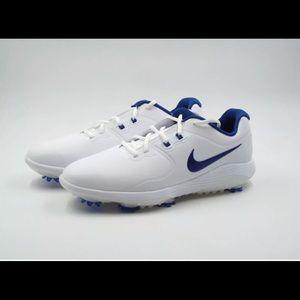 Men's Nike Vapor Pro Golf Shoes White/Blue